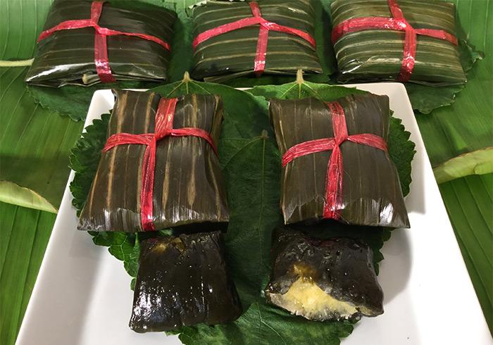 Đặc sản nổi tiếng bánh gai Ninh Giang