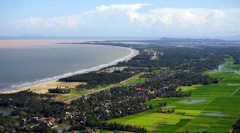 Biển Hải Tiến - Thanh Hóa mang nét đẹp tự nhiên, hoang sơ