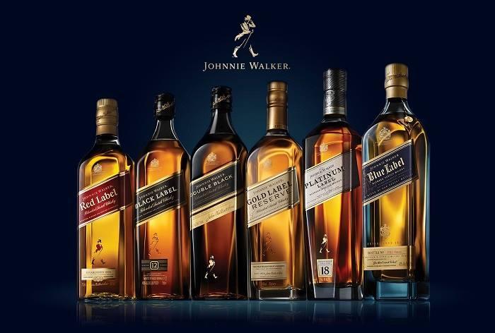 Thương hiệu Johnnie Walker có sự pha trộn đặc biệt, làm say lòng người.