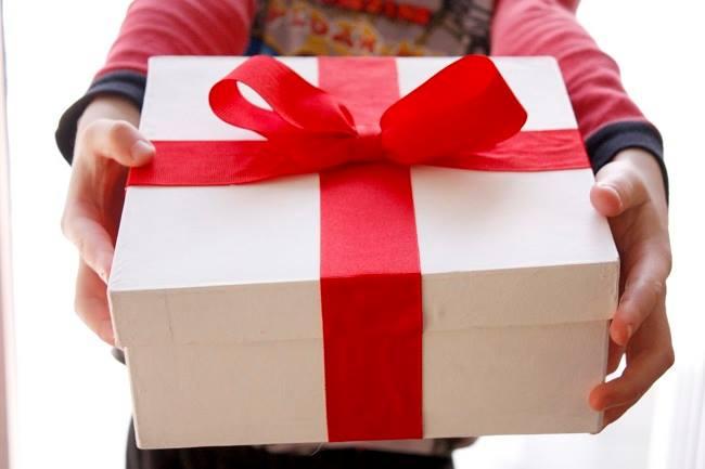 Món quà mong theo tấm lòng của người tặng.