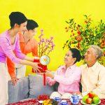 Những món quà Tết ý nghĩa cho bố mẹ chồng