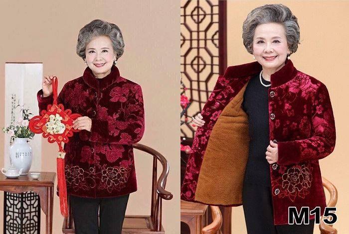 Quần áo mới tặng ông bà trong dịp Tết mang lại nhiều mạnh khỏe.