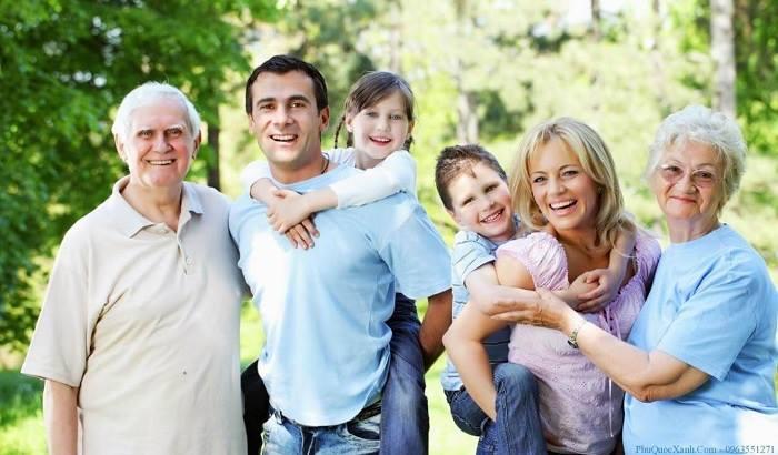 Chuyến đi du lịch gia đình giúp ông bà có nhiều thời gian bên con cháu.