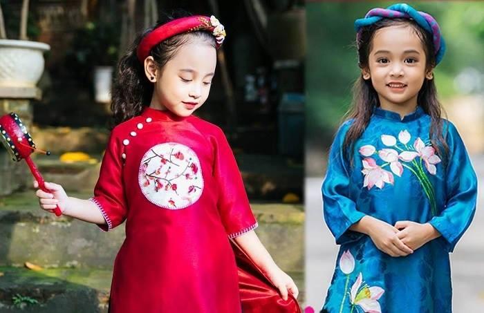 Những bộ đồ mới luôn khiến con trẻ háo hức và cảm thấy vui vẻ, tự tin khi đi chơi Tết.