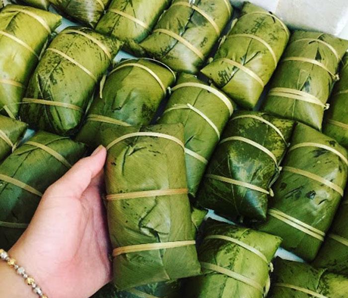 Bánh chưng gù Hà Giang vừa thơm ngon lại mang ý nghĩa độc đáo